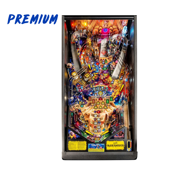 Iron Maiden Pinball Premium Edition Playfield by Stern Pinball