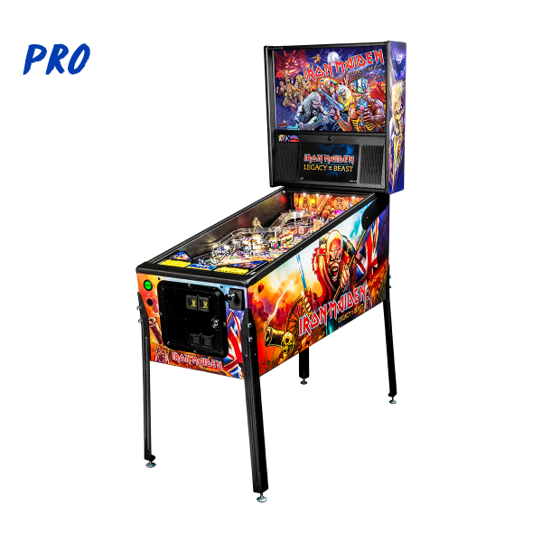 Iron Maiden Pro Edition Full Side by Stern Pinball