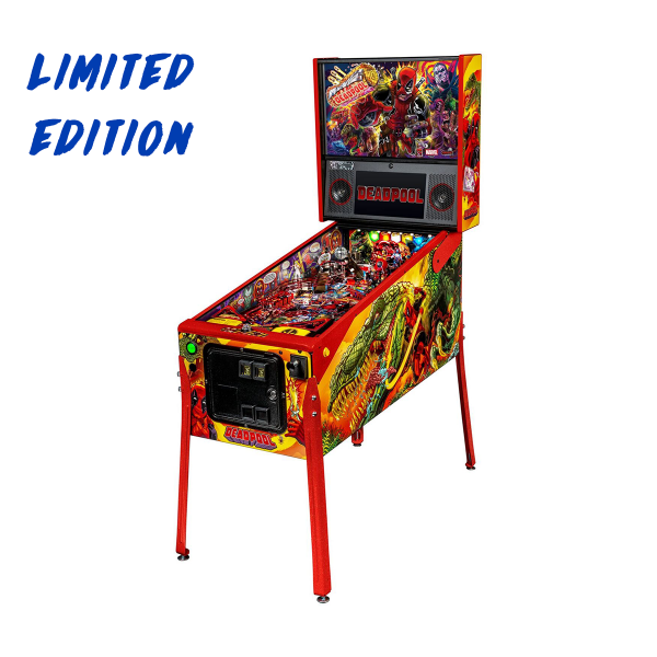 Deadpool Pinball Limited Edition Full Side by Stern Pinball