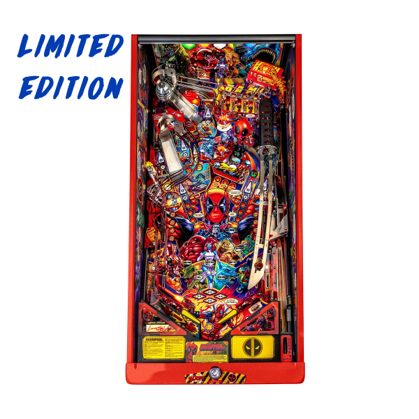 Deadpool Pinball Limited Edition Playfield by Stern Pinball