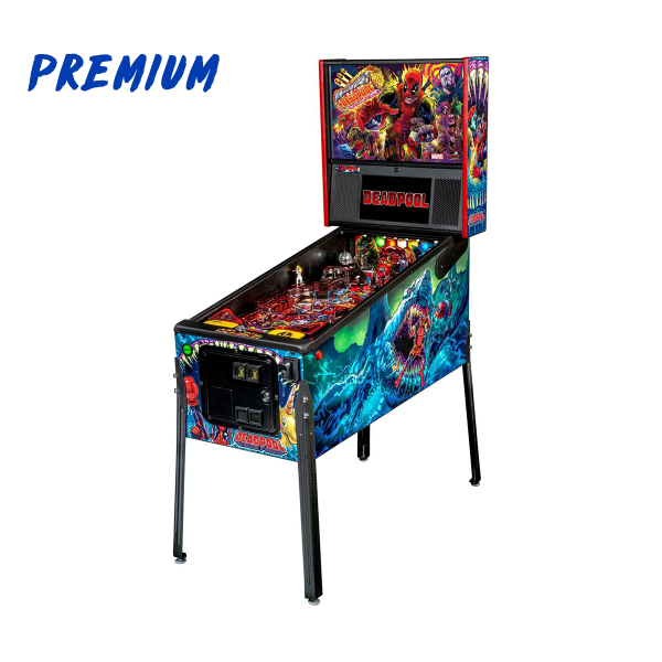 Deadpool Pinball Premium Edition Full Side by Stern Pinball