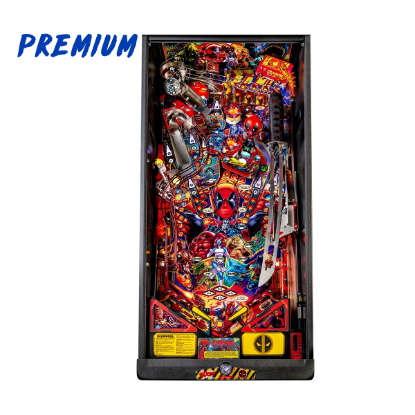Deadpool Pinball Premium Edition Playfield by Stern Pinball