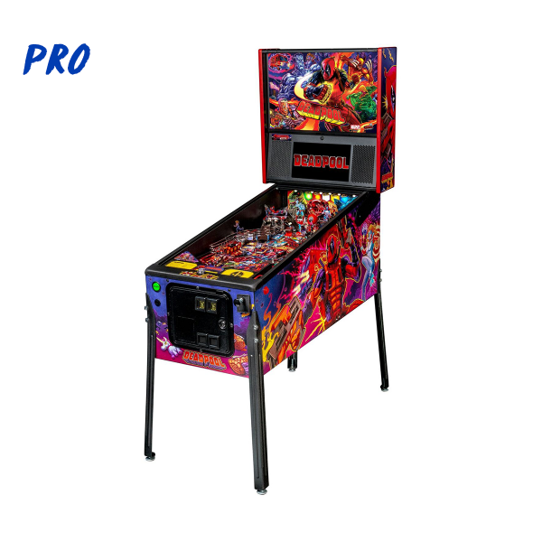 Deadpool Pinball Pro Edition Full Side by Stern Pinball