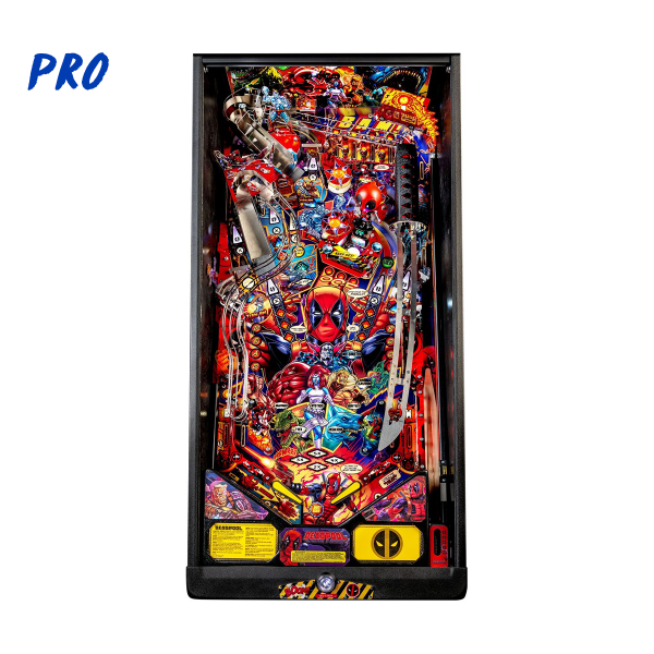 Deadpool Pinball Pro Edition Playfield by Stern Pinball