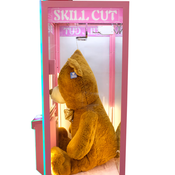 Skill Cut by Electrocoin - Side View - Skill & Prize Vending Games & Redemption