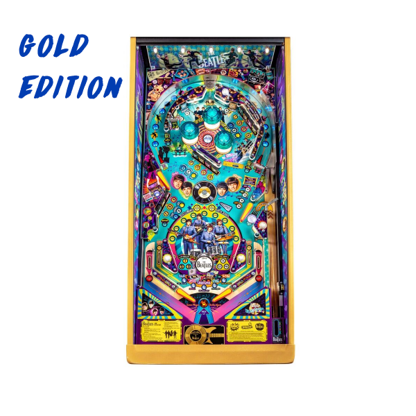 Beatles Pinball Gold Edition Playfield by Stern Pinball
