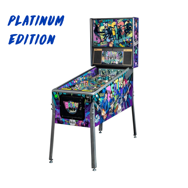 Beatles Pinball Platinum Edition Full Side by Stern Pinball