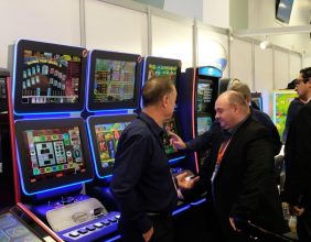 Electrocoin Autumn Coin op Show (ACOS) 2018 in Olympia, London 7635