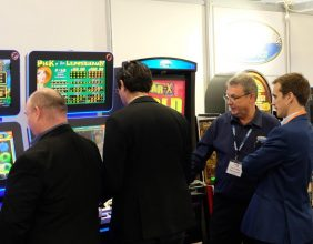 Electrocoin Autumn Coin op Show (ACOS) 2018 in Olympia, London 7638