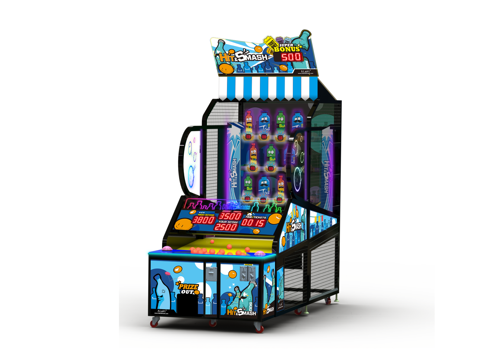 Hit & Smash by Electrocoin – Redemption, Skill & Prize Vending Games