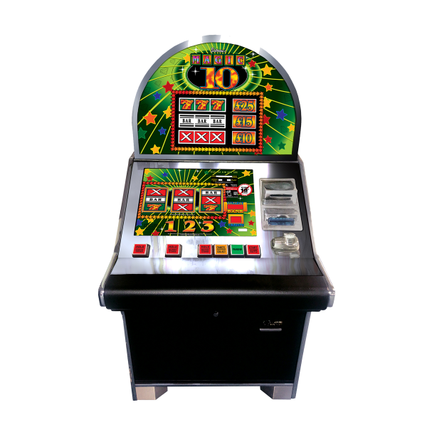 MAGIC 10 Sitdown Cabinet by Electrocoin, CAT C £25 Jackpot - AWP, Fruit Machines & Slots