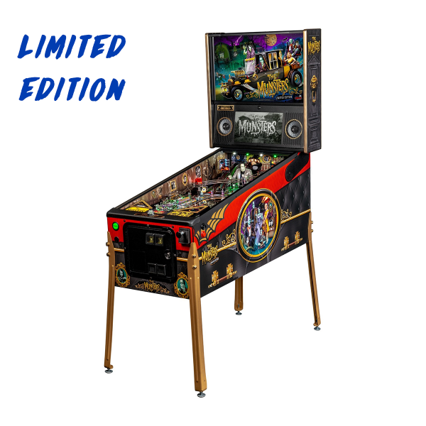 The Munsters Pinball Limited Edition Full Side by Stern Pinball