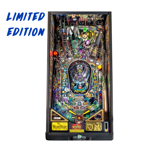 The Munsters Pinball Limited Edition Playfield by Stern Pinball