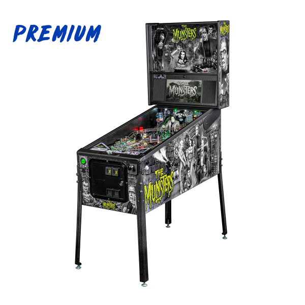 The Munsters Pinball Premium Edition Full Side by Stern Pinball