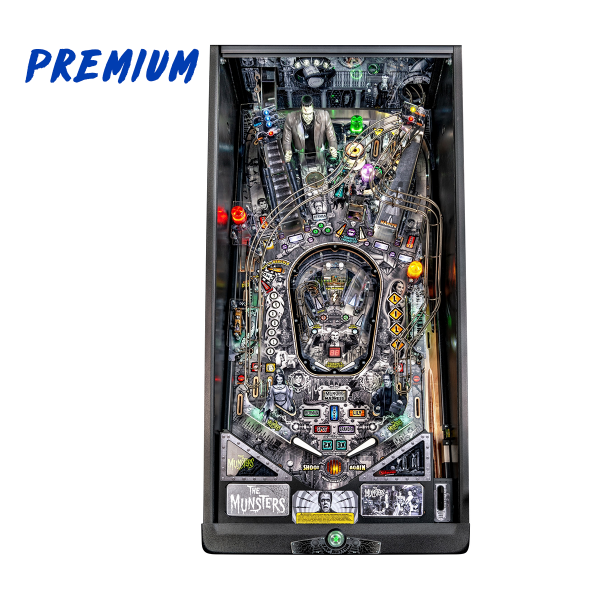 The Munsters Pinball Premium Edition Playfield by Stern Pinball