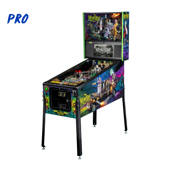 The Munsters Pinball Pro Edition Full Side by Stern Pinball