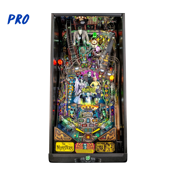 The Munsters Pinball Pro Edition Playfield by Stern Pinball
