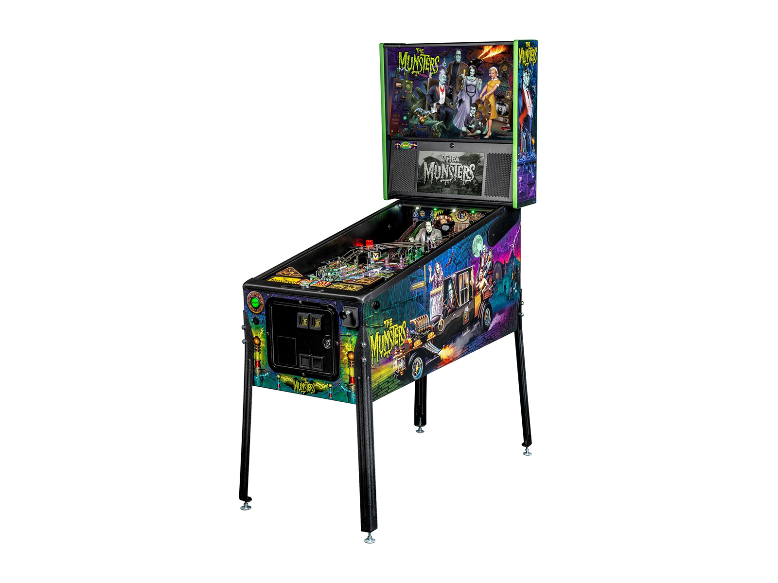 THE MUNSTERS PINBALL BY STERN PINBALL | Electrocoin - Expanding