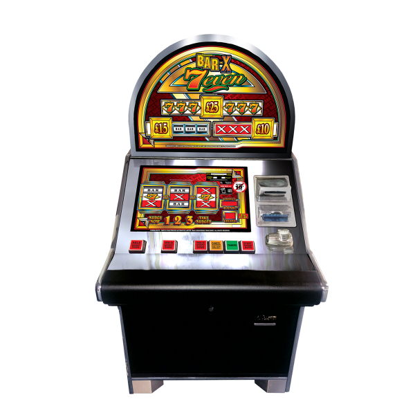 Bar X 7even Sitdown Cabinet by Electrocoin, CAT C £25 Jackpot - AWP, Fruit Machines & Slots