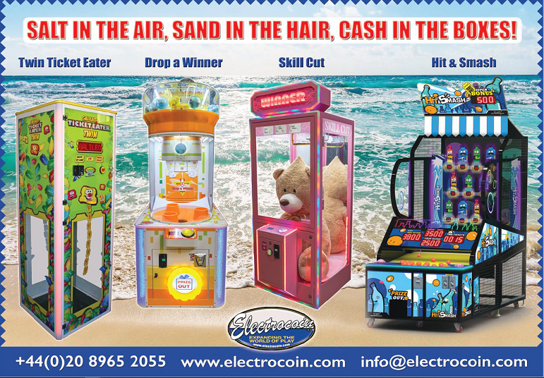 Electrocoin Seaside Supplement Products 2019