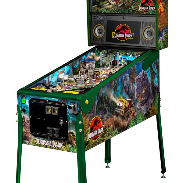Jurassic Park Pinball Limited Edition Full Side by Stern Pinball