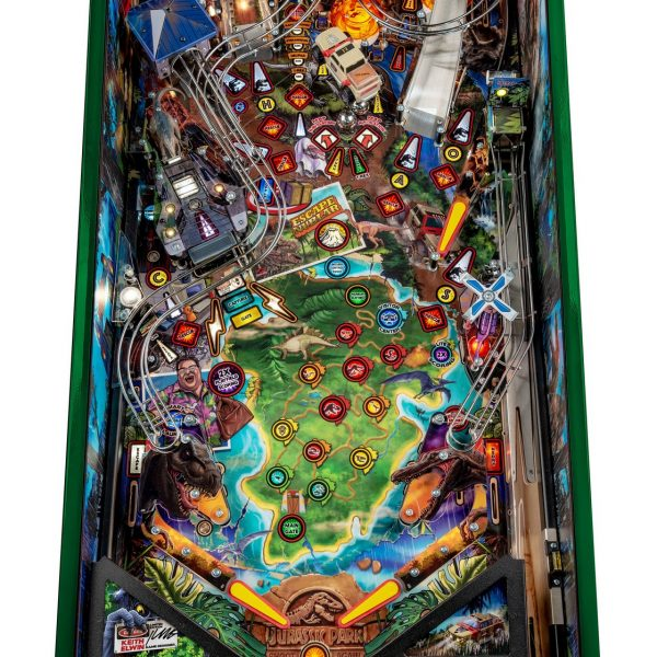 Jurassic Park Pinball Limited Edition Playfield by Stern Pinball