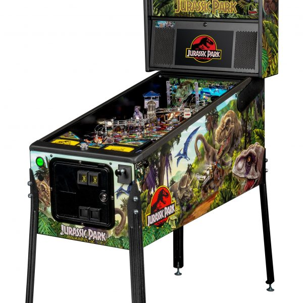 Jurassic Park Pinball Pro Edition Full Side by Stern Pinball