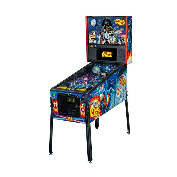 Star Wars Comic Pro Full Left Side Pinball by Stern Pinball
