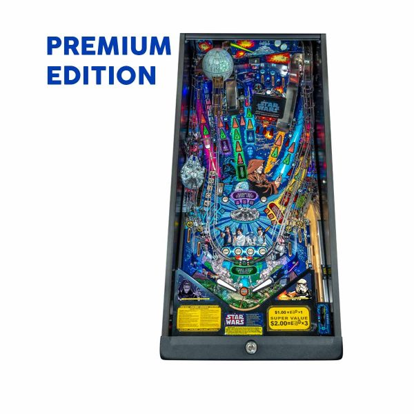 Star Wars Comic Premium Playfield Pinball by Stern Pinball