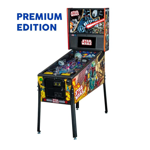Star Wars Comic Premium Full Side Pinball by Stern Pinball