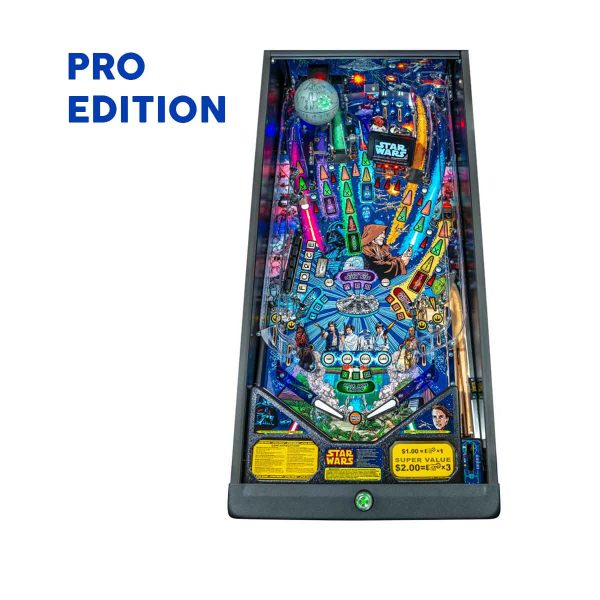 Star Wars Comic Pro Playfield Pinball by Stern Pinball
