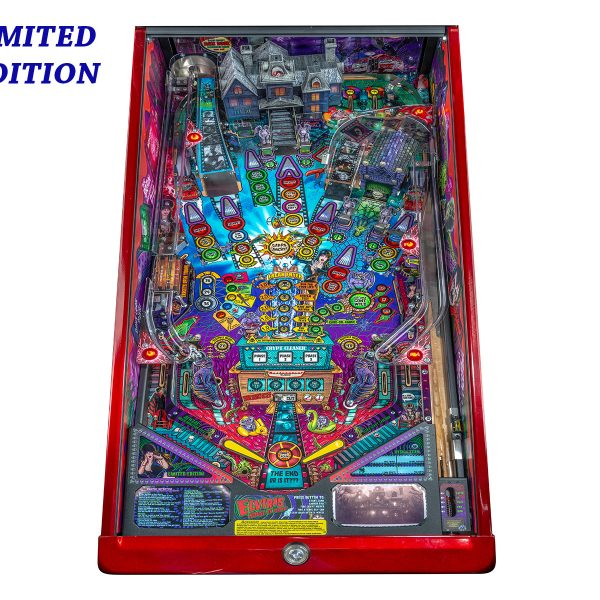Elvira's House of Horror Pinball Limited Edition Playfield by Stern Pinball