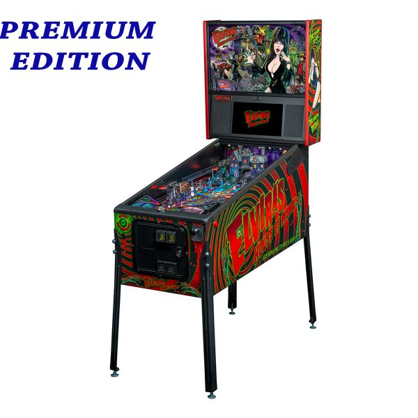Elvira's House of Horror Pinball Premium Edition Full Side by Stern Pinball