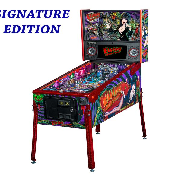 Elvira's House of Horror Pinball Signature Edition Full Side by Stern Pinball