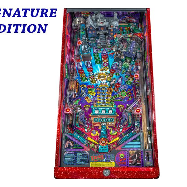 Elvira's House of Horror Pinball Signature Edition Playfield by Stern Pinball