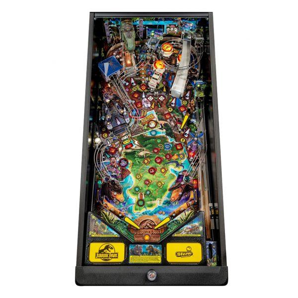 Jurassic Park Pinball Pro Edition Playfield by Stern Pinball
