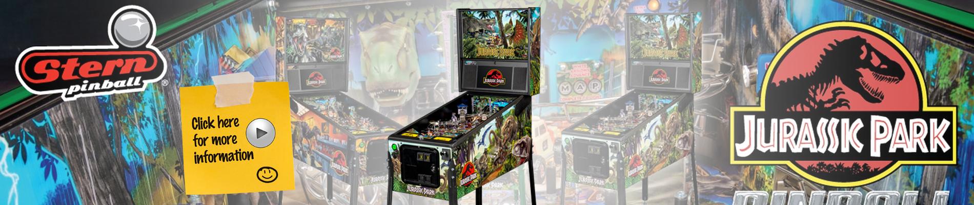 Jurassic Park Pinball by Stern Pinball