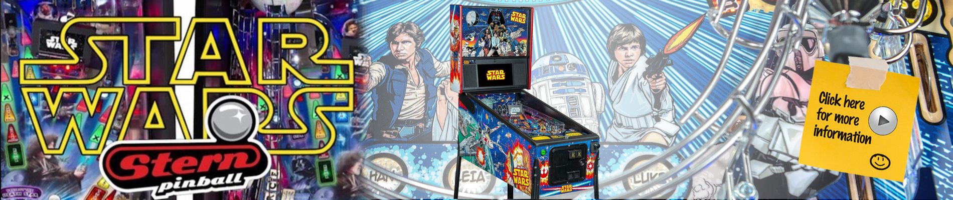 Star Wars Comic Pinball by Stern Pinball