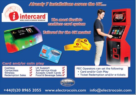 The way forward - Intercard cashless system - Electrocoin