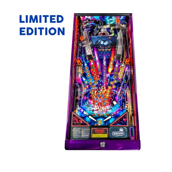 Stranger Things Pinball Limited Edition Playfield by Stern Pinball
