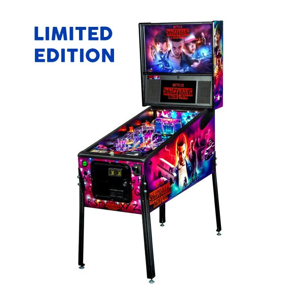 Stranger Things Pinball Limited Edition Full Side by Stern Pinball