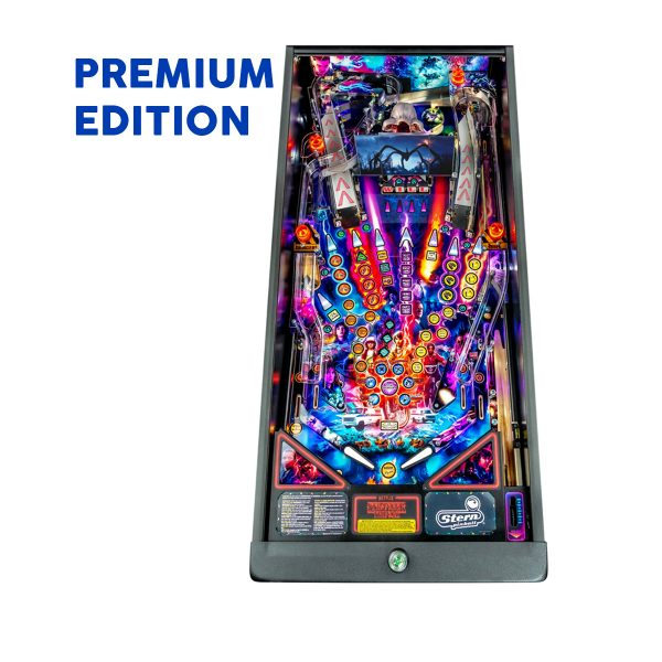 Stranger Things Pinball Premium Edition Playfield by Stern Pinball