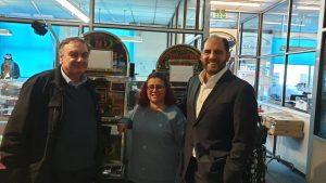 Electrocoins John Stergides, Teresa Arnedo and Arturo Manso reunion