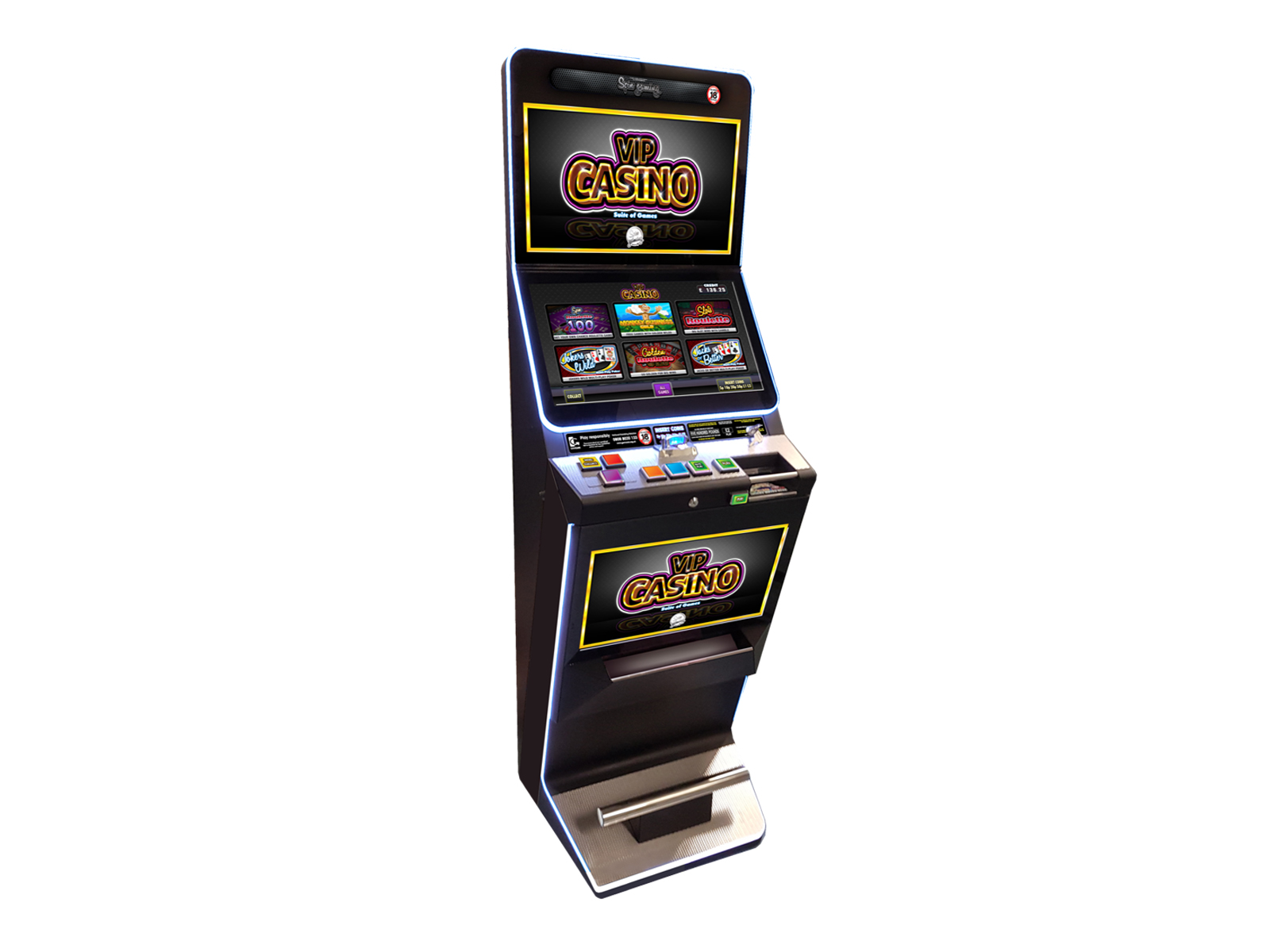 Vip Casino Cat C By Spin Gaming Digital Gaming And Slots Electrocoin