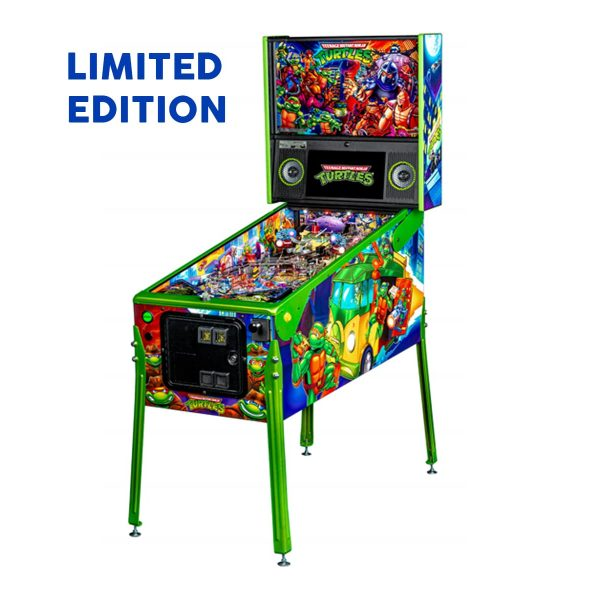 Teenage Mutant Ninja Turtle Limited Edition Pinball Full Side by Stern Pinball