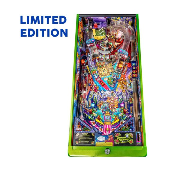 Teenage Mutant Ninja Turtle Limited Edition Pinball Play Field by Stern Pinball