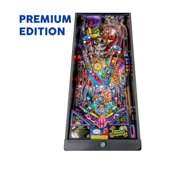 Teenage Mutant Ninja Turtle Premium Edition Pinball Play Field by Stern Pinball