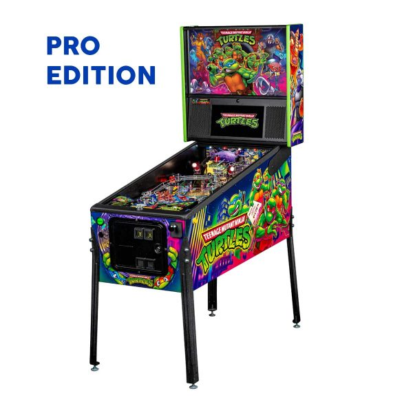 Teenage Mutant Ninja Turtle Pro Edition Pinball Full Side by Stern Pinball