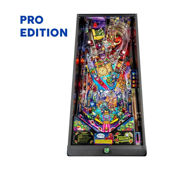 Teenage Mutant Ninja Turtle Pro Edition Pinball Playfield by Stern Pinball