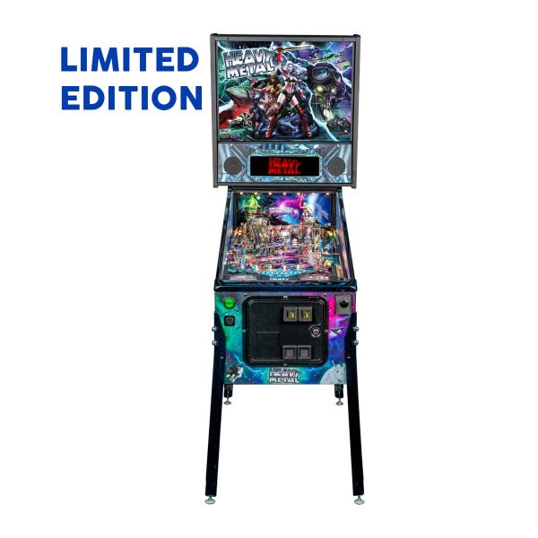 Heavy Metal Limited Edition Pinball Full Front by Stern Pinball and Incendium